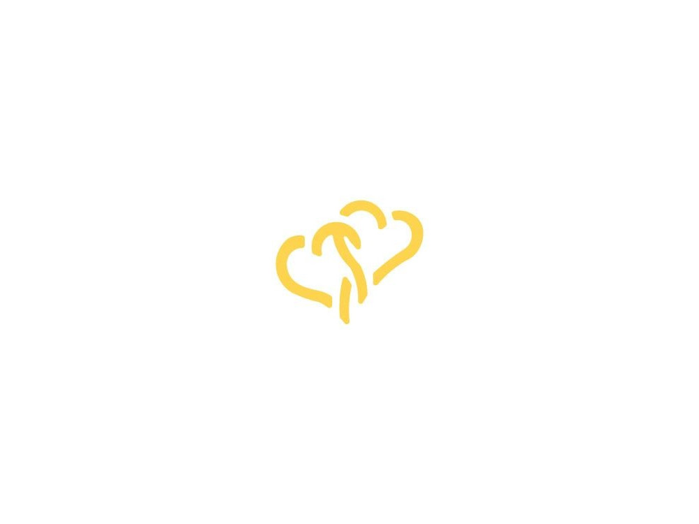Craft Punch Hearts 134 - DpCraft - 2,5 cm