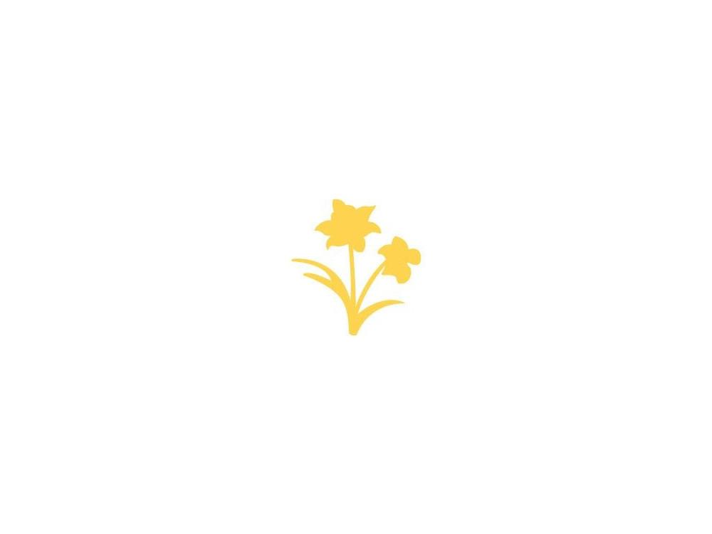 Craft Punch Daffodil 143 - DpCraft - 2,5 cm