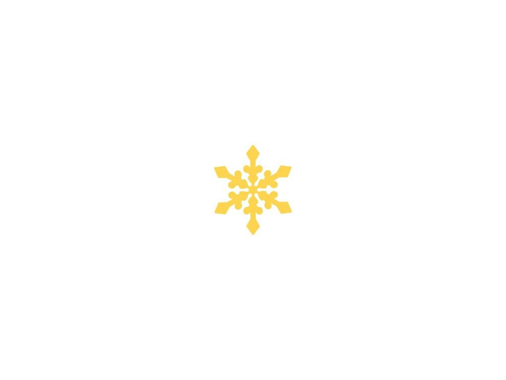 Dziurkacz ozdobny Śnieżynka - DpCraft - 2,5 cm