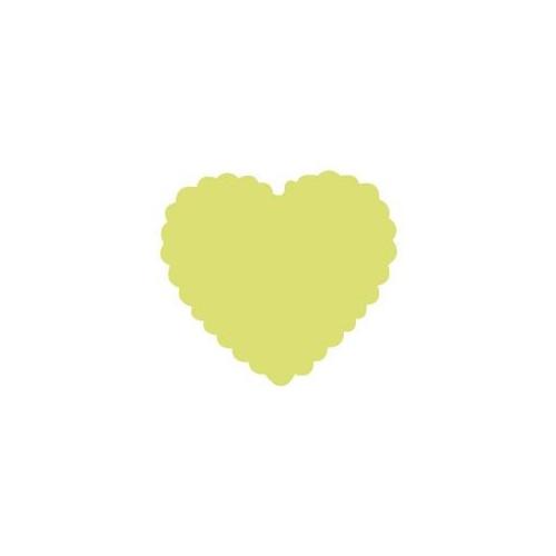 Dziurkacz ozdobny 5 cm 009 - Serce falbanka