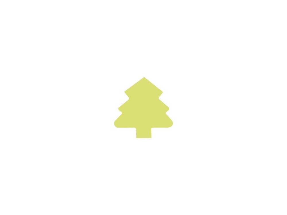 Craft Punch Fir Tree 021 - DpCraft - 5 cm