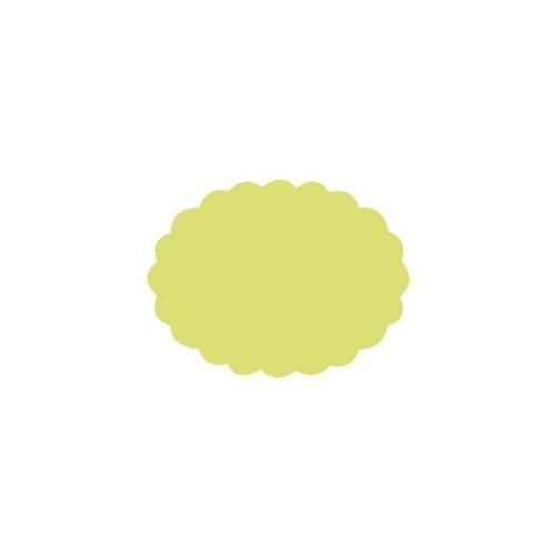 Dziurkacz ozdobny Owal z falbanką 032 - DpCraft - 5 cm