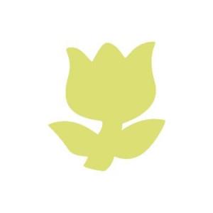 Dziurkacz ozdobny 5 cm 037 - Tulipan