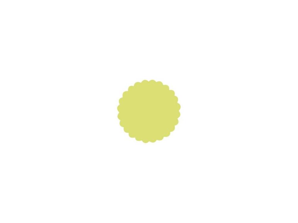 Dziurkacz ozdobny Koło z falbanką 109 - DpCraft - 5 cm