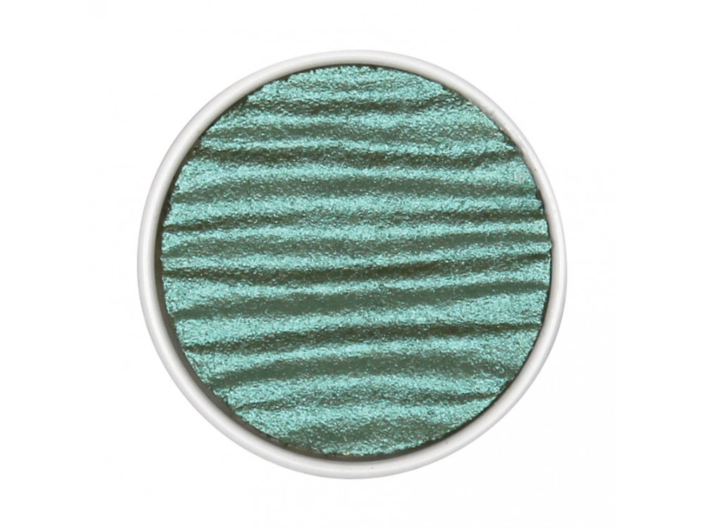 Watercolor paint 30 mm - Blue Green - Coliro Pearl Colors