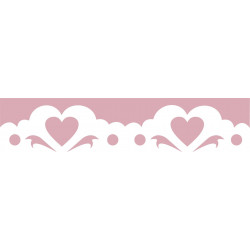 Border Craft Punch 4 cm 010 - Hearts