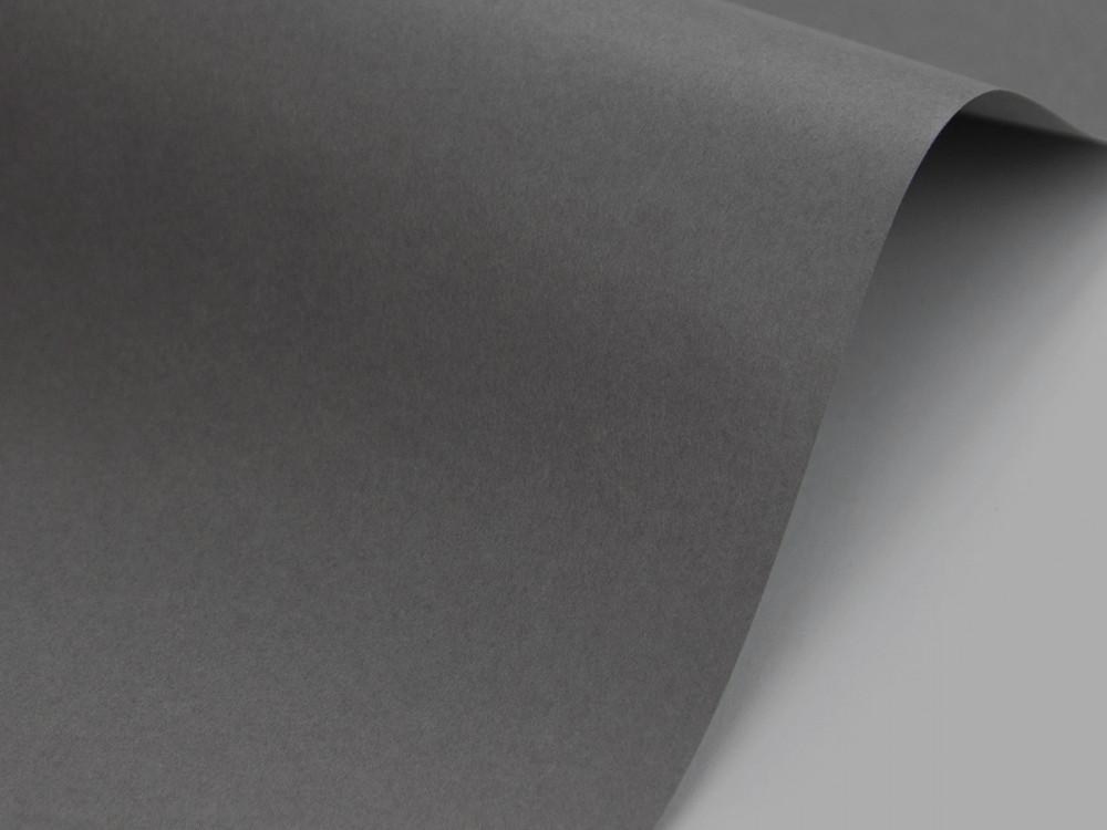 Papier Sirio Color 210g - Anthracite, grafitowy, A4, 20 ark.