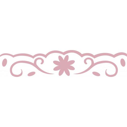 Dziurkacz brzegowy 4 cm 013 - Kwiatki