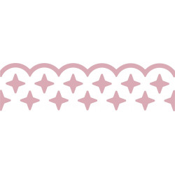 Border Craft Punch 4 cm 017 - Stars