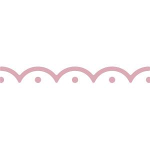Dziurkacz brzegowy 4 cm 048 - Falbanka
