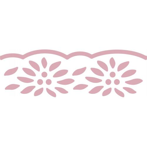 Dziurkacz brzegowy 4 cm 055 - Kwiaty