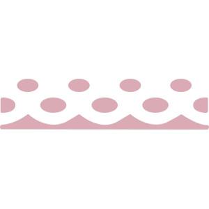Dziurkacz brzegowy 4,5 cm 045 - Serwetka kropki