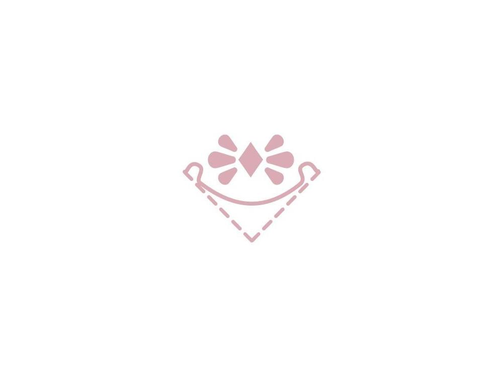 Dziurkacz ozdobny, narożnikowy Błysk - DpCraft - 2,5 cm