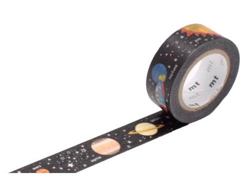 Taśma papierowa Washi - MT Masking Tape - Planet