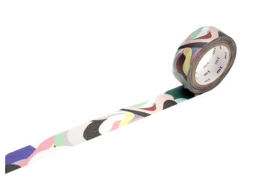 Taśma papierowa Washi - MT Masking Tape - Papier Tigre L'Aquarius