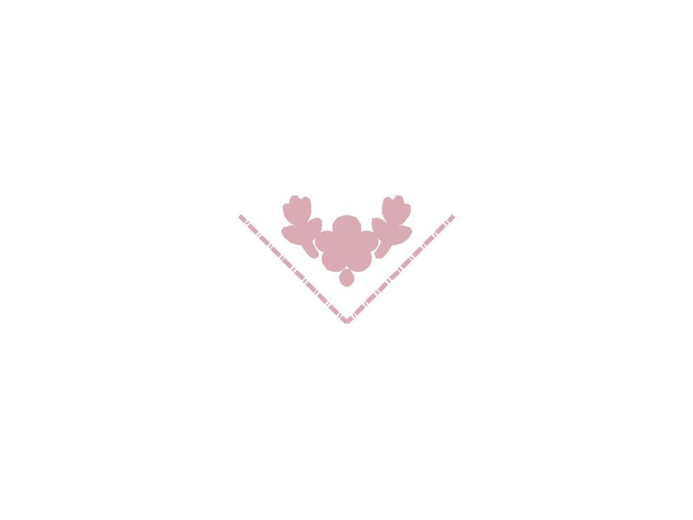 Dziurkacz ozdobny, narożnikowy Kwiat - DpCraft - 2,5 cm