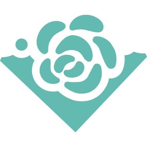 Dziurkacz ozdobny narożnikowy 3,7 cm Róża