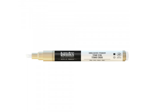 Acrylic marker - Liquitex - unbleached titanium
