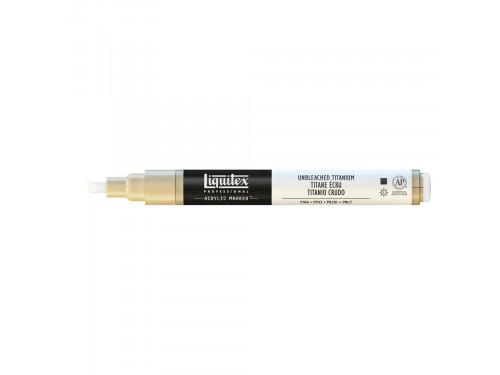Marker akrylowy - Liquitex - unbleached titanium