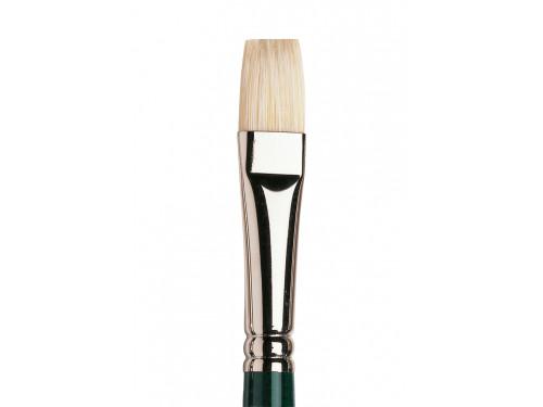 Short flat, hog Winton brush - Winsor & Newton - no. 8