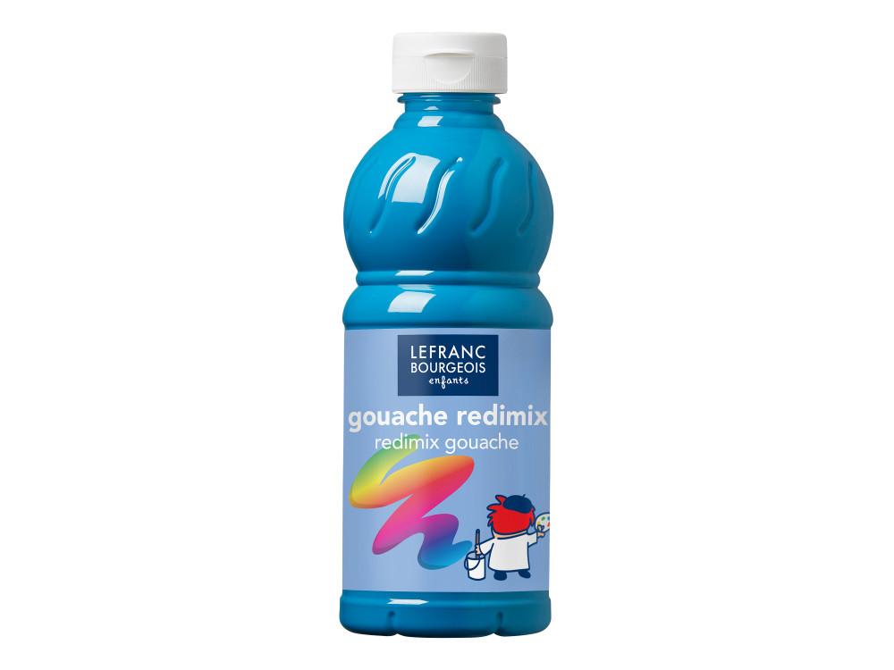 Farba plakatowa - Lefranc & Bourgeois - turkusowa, 500 ml