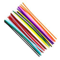 Chenille Stems - DpCraft - colorful, 30 cm, 40 pcs.