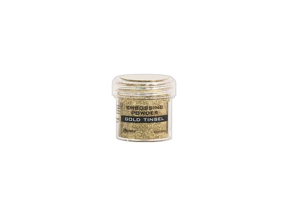 Embossing powder - Ranger - gold tinsel, shiny gold, 18 g