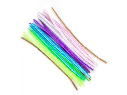 Druciki kreatywne pastelowe - DpCraft - 30 cm, 25 szt.