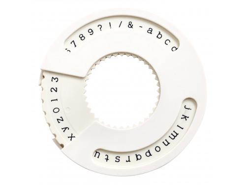Narzędzie do wykonywania napisów - We R - mała czcionka, serif