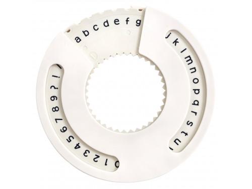 Narzędzie do wykonywania napisów - We R - mała czcionka, san serif