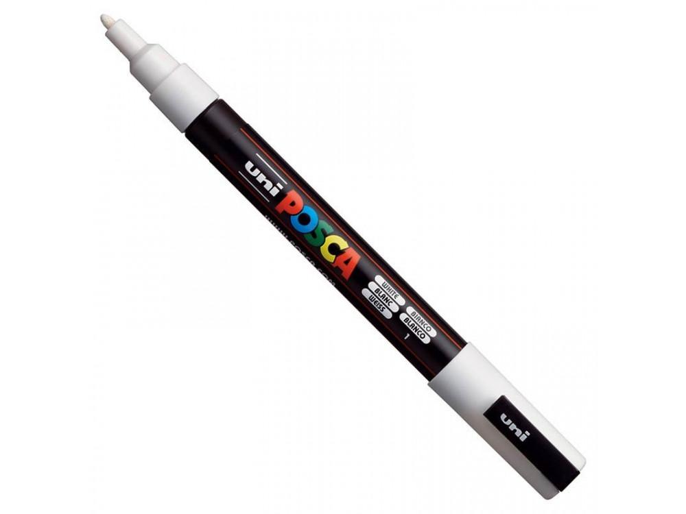 Uni Posca Paint Marker Pen PC-3M - White