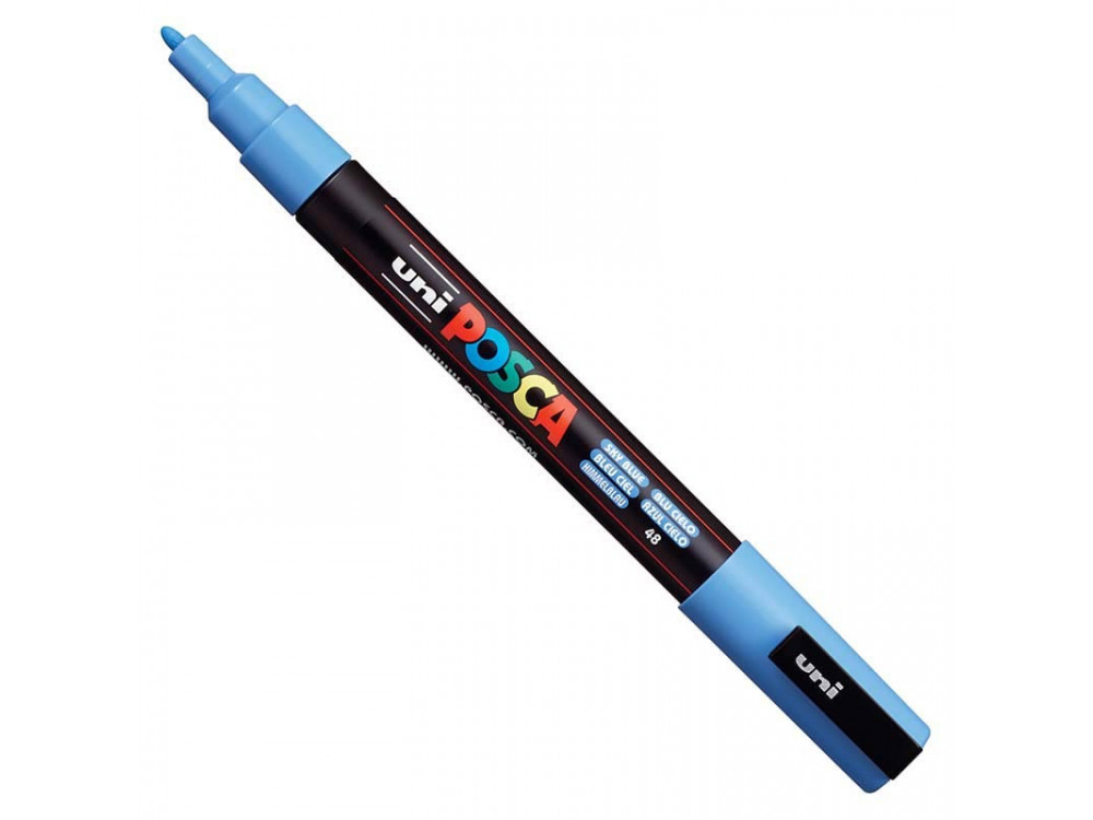 Marker Posca PC-3M - Uni - sky blue