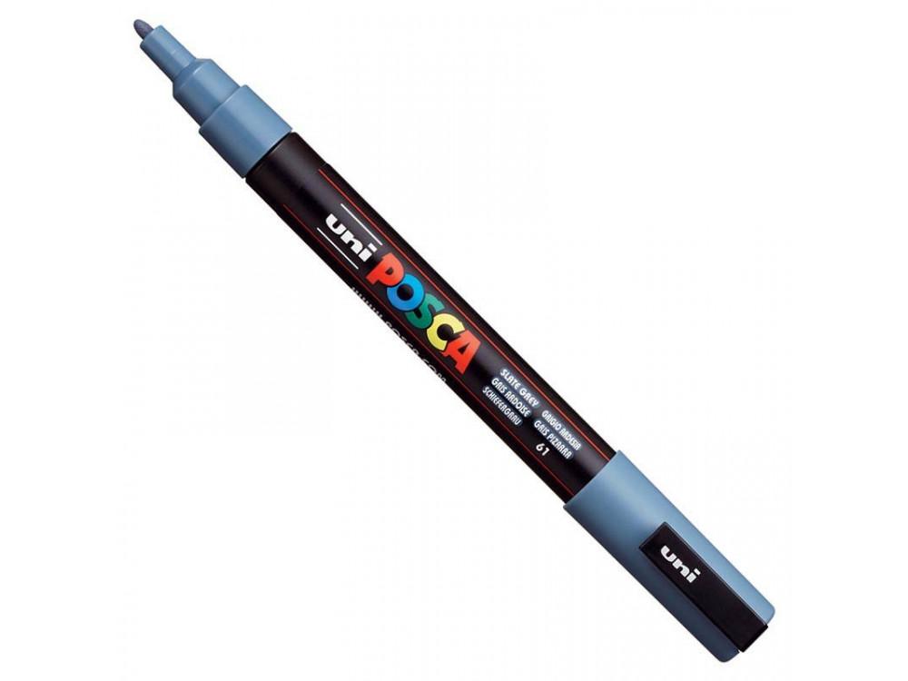 Uni Posca Paint Marker Pen PC-3M - Slate Gray