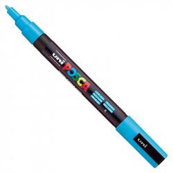 Marker Posca PC-3M - Uni - light blue