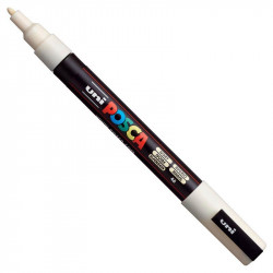 Uni Posca Paint Marker Pen PC-3M - Ivory
