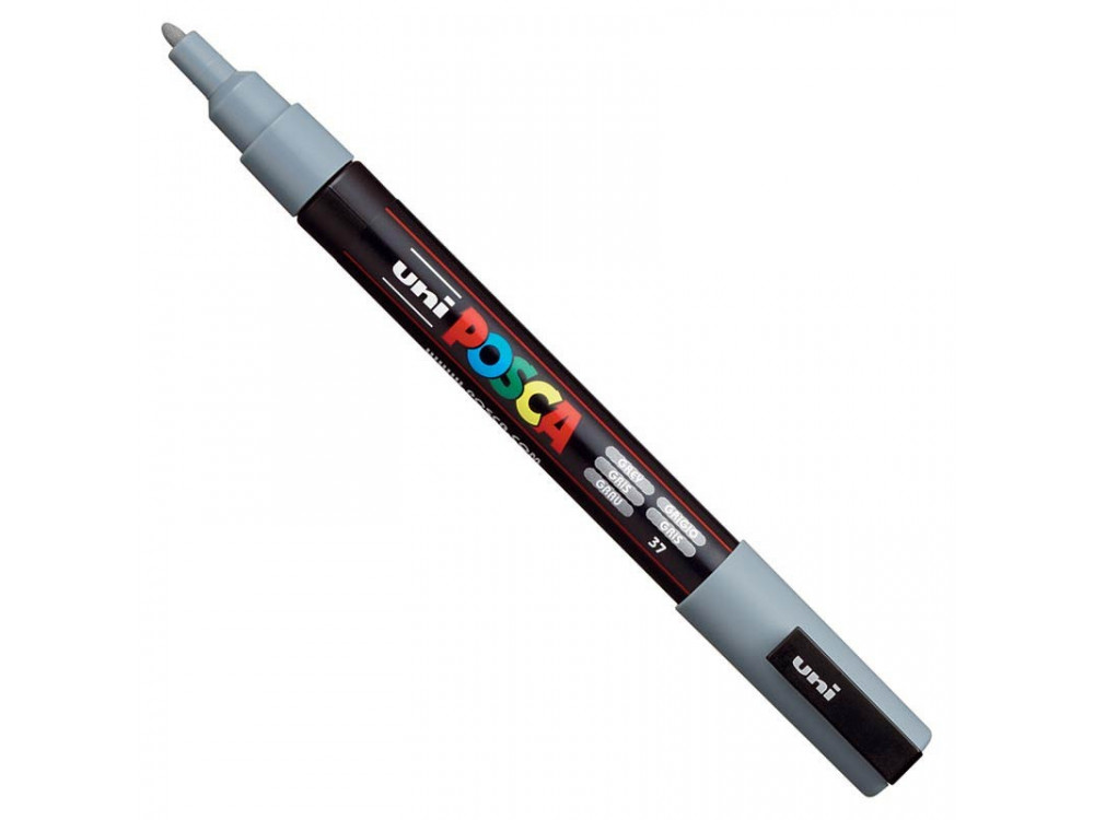 Marker Posca PC-3M - Uni - grey