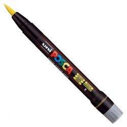 Marker pędzelkowy Posca PCF-350 - Uni - yellow