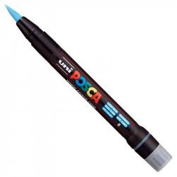 Marker pędzelkowy Posca PCF-350 - Uni - light blue