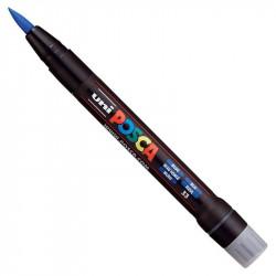 Marker pędzelkowy Posca PCF-350 - Uni - blue