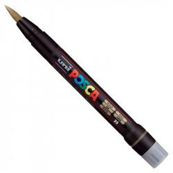 Marker pędzelkowy Posca PCF-350 - Uni - gold