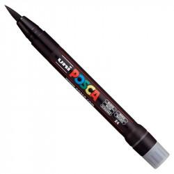 Marker pędzelkowy Posca PCF-350 - Uni - black
