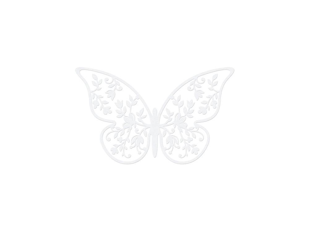 Paper Decorations Butterfly, 8x5 cm, 10 pcs