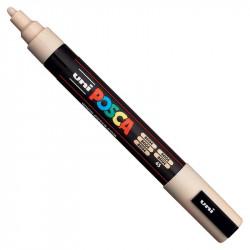 Marker Posca PC-5M - Uni - beige