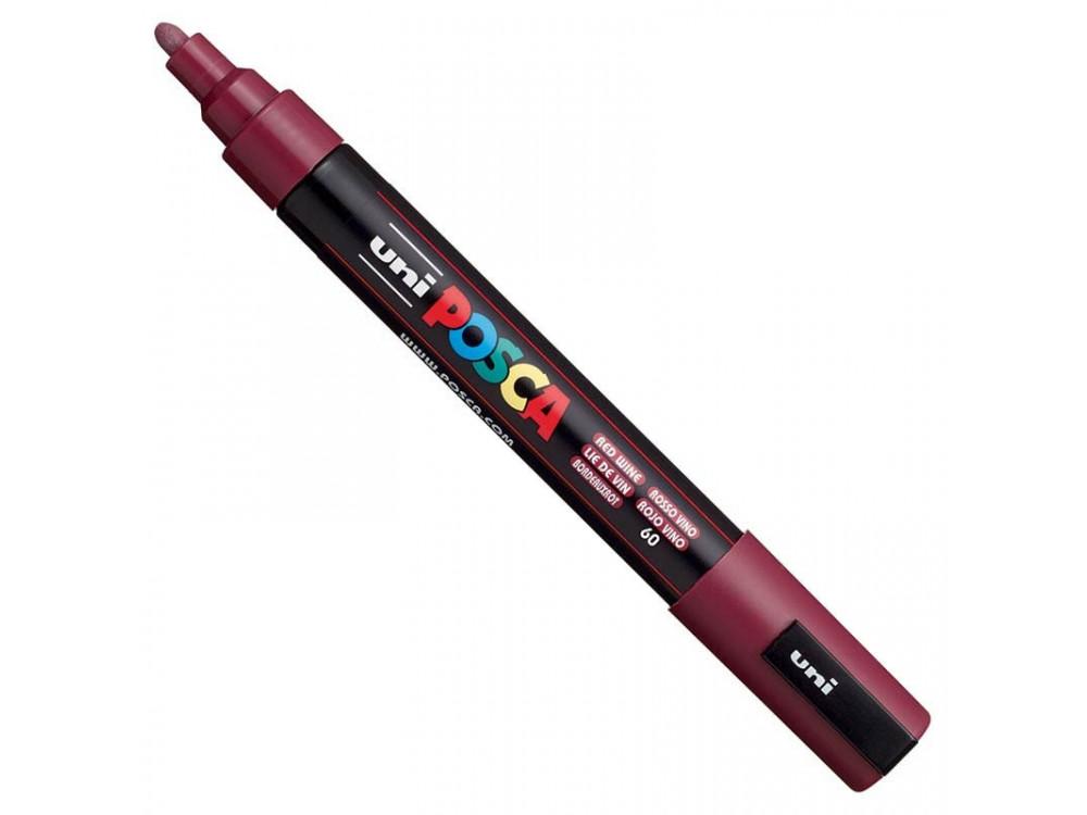 Marker Posca PC-5M - Uni - red wine
