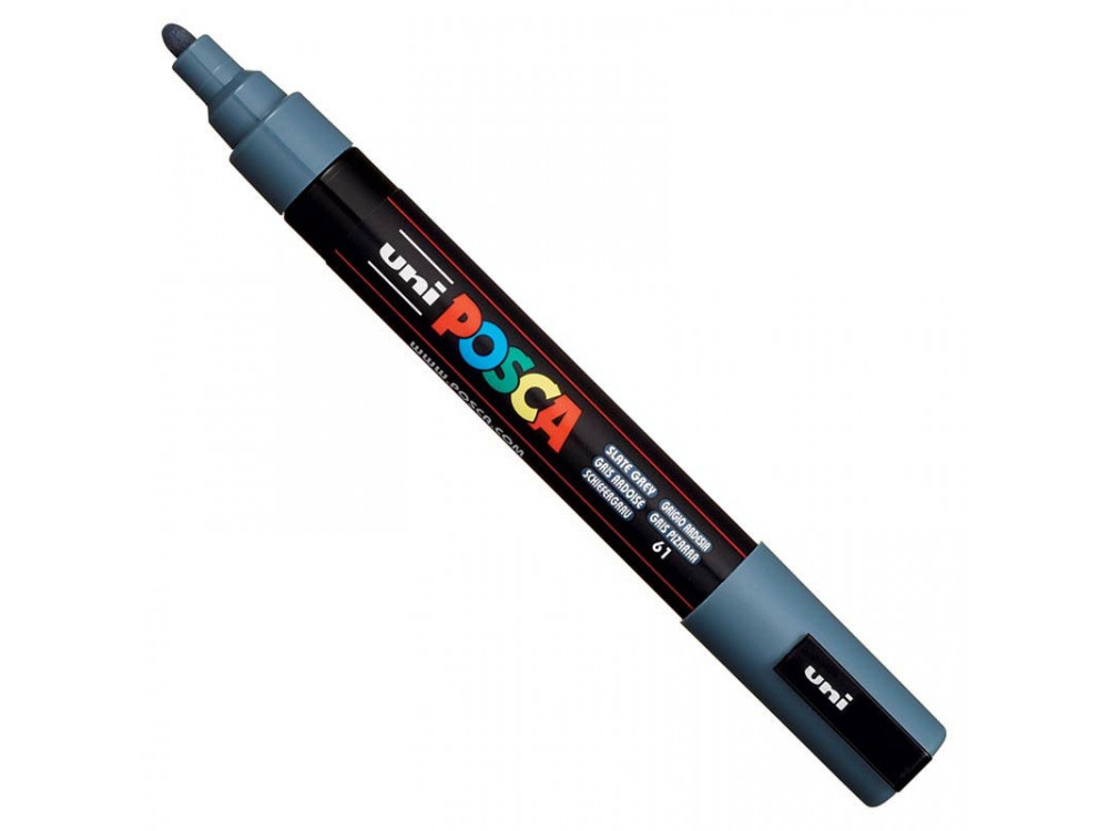 Marker Posca PC-5M - Uni - slate grey