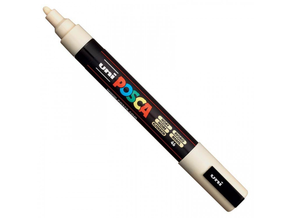 Uni Posca Paint Marker Pen PC-5M - Ivory