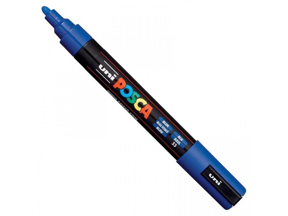 Uni Posca Paint Marker Pen PC-5M - Blue