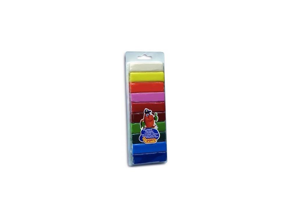 Plastelina w blistrze - JOVI - 10 kolorów x 25 g