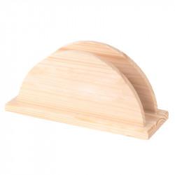 Drewniany stojak na serwetki - serwetnik