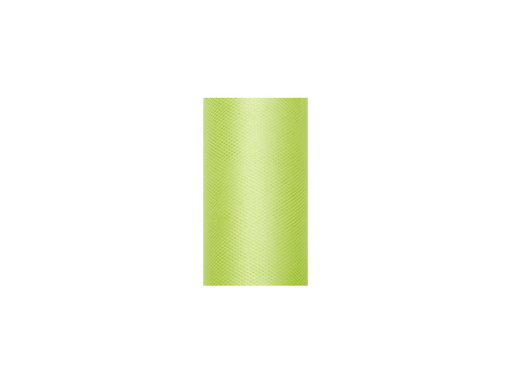 Decorative Tulle 15 cm x 9 m 102 Light Green